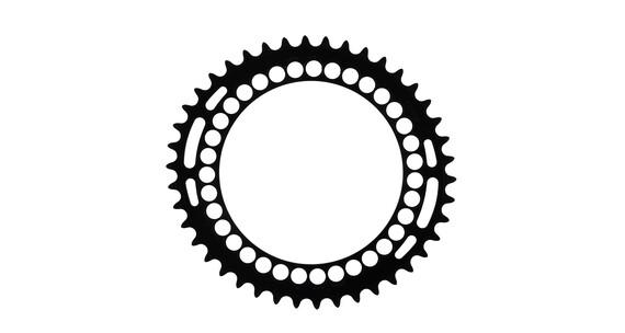 Rotor Q-Ring 130 BCD Plateau intérieur noir